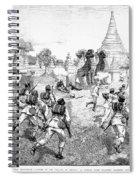 Third Burmese War, 1885 Spiral Notebook