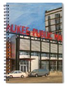 Third Ward - Milwaukee Public Market Spiral Notebook