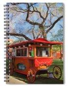 Third Ward - Popcorn Wagon Spiral Notebook