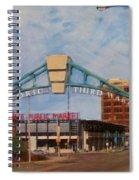 Third Ward Arch Over Public Market Spiral Notebook