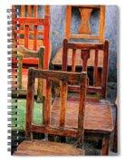 Thirteen Chairs Spiral Notebook
