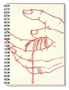 Thirteenth Station- Jesus Is Taken Down From The Cross Spiral Notebook