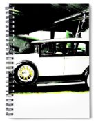 Thirties Packard Limo Spiral Notebook