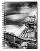 Thirty Seconds At Big Pit Mono Spiral Notebook