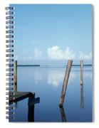 This Is The Morning View Of Pine Island Spiral Notebook
