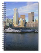 This Is The Skyline And Harbor Spiral Notebook