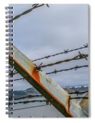 This Side Of The Fence Spiral Notebook