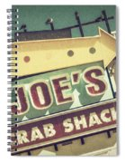 This Way To Joe's Crab Shack Spiral Notebook