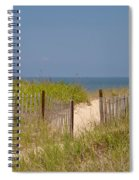 This Way To The Beach Spiral Notebook