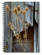Thistle And Wood Spiral Notebook