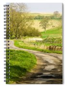 Thixendale Road  North Yorkshire Spiral Notebook