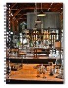 Thomas Edison Lab, #3 Spiral Notebook