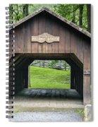 Thomas Malon Covered Bridge Spiral Notebook