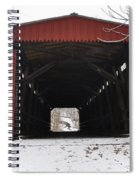 Thomas Mill Road Covered Bridge Spiral Notebook