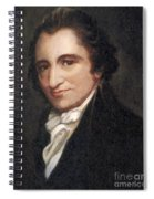 Thomas Paine, American Founding Father Spiral Notebook