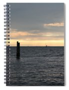 Thomas Point - The Morning Sun Over The Bay Spiral Notebook