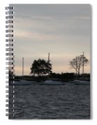 Thomas Point - Waiting To Sail Spiral Notebook