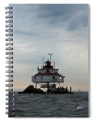 Thomas Point Shoal Lighthouse - Icon Of The Chesapeake Bay Spiral Notebook
