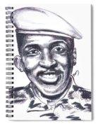 Thomas Sankara 02 Spiral Notebook