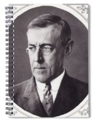 Thomas Woodrow Wilson, 1856 To 1924 Spiral Notebook