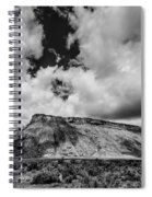 Thompson Springs Gathering Thunderstorm - Utah Spiral Notebook