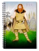 Thor Odinsson Spiral Notebook