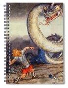 Thor Went Forth Against Jormungand Spiral Notebook