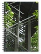 Thorncrown Chapel Eureka Springs Ar Entry Spiral Notebook