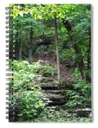 Thorncrown Chapel Setting In The Ozark Mountains Spiral Notebook