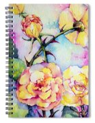 Thorns Have Roses Spiral Notebook
