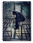 Thorns Of Punishment Spiral Notebook