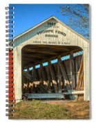 Thorpe Ford Covered Bridge Spiral Notebook
