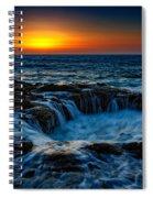 Thor's Well II Spiral Notebook