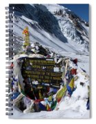 Thorong La Pass, Annapurna Circuit, Nepal Spiral Notebook