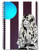 Thoughtful Stevie Spiral Notebook
