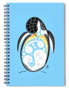 Thoughts And Colors Series Penguin Spiral Notebook