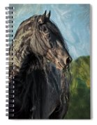 Thoughts Of Friesians Spiral Notebook