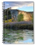 Thousand Springs Idaho Spiral Notebook