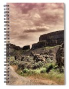 Threatening Skies Spiral Notebook