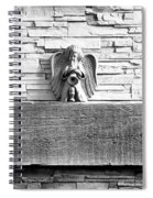 Three Angels On A Mantel Spiral Notebook