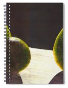 Three Backlit Spiral Notebook