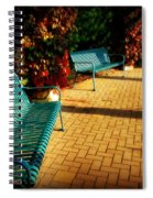 Three Benches Spiral Notebook