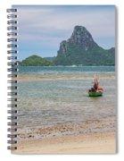 Three Boats Thailand Spiral Notebook