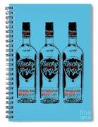 Three Bottles Of Nucky Rye Tee Spiral Notebook