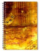Three Brass Rings II Spiral Notebook