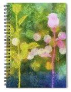 Three Buds Spiral Notebook