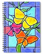 Three Butterflies Spiral Notebook