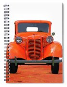 Three Colored Cars Spiral Notebook