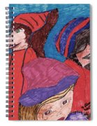 Three Directions Spiral Notebook
