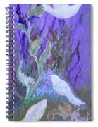 Three Doves  Spiral Notebook